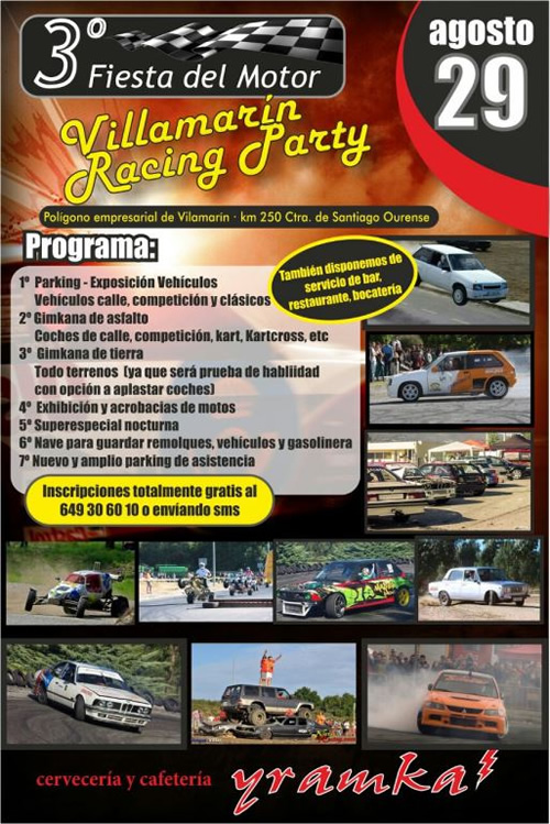 Galp te invita a la villamar n racing party 2015 galp for Galp energia oficina virtual